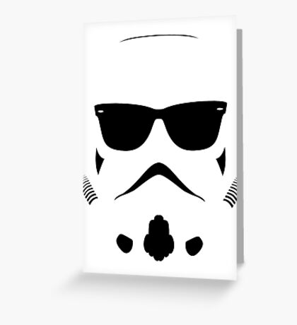 Shadetrooper Greeting Card