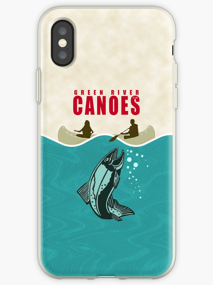 Phone case: Canoe Jaws by Steven House