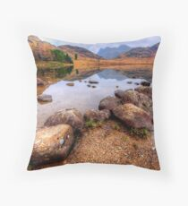 Blea Tarn, Lake District Throw Pillow