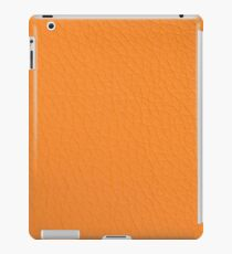 Orange fabric texture iPad Case/Skin