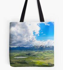 Peak of Mt. Bunsen, Yellowstone Natl. Park Tote Bag