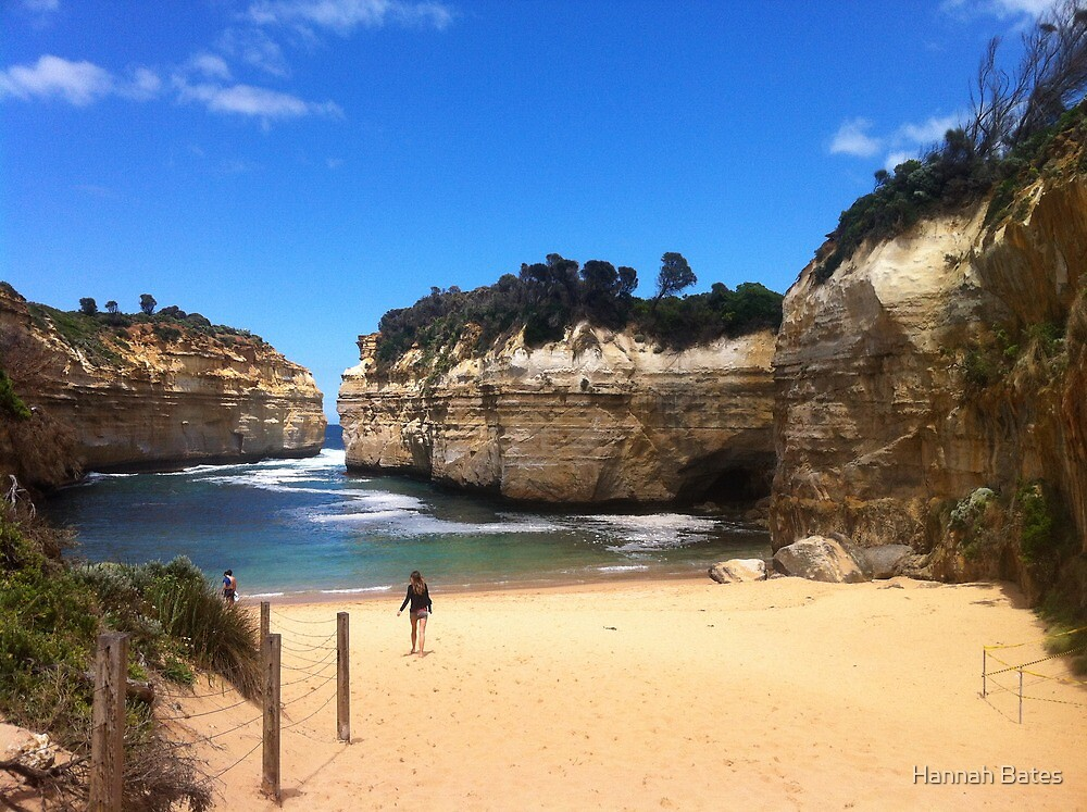 The Great Ocean Road, Melbourne by Hannah Bates