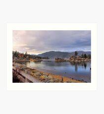 Boulder Bay Art Print