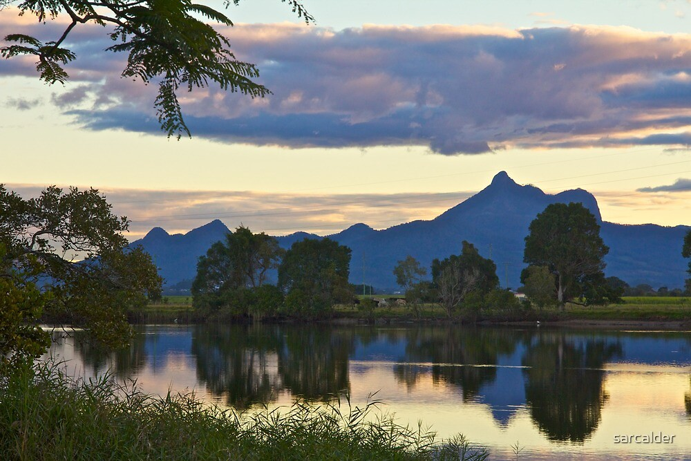 Wollumbin clouds by sarcalder