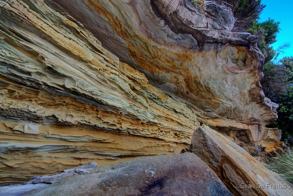 Sandstone - Bruny Island, Tasmania by PC1134