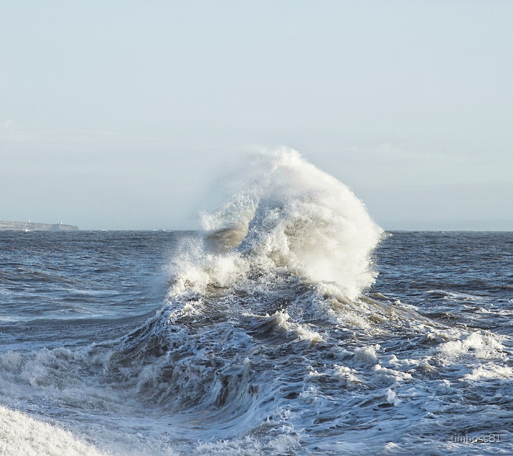 Storm Backwash, Porthcawl by timboss81