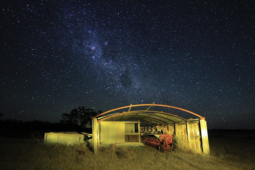 Shed in the stars by Laura O'Dwyer