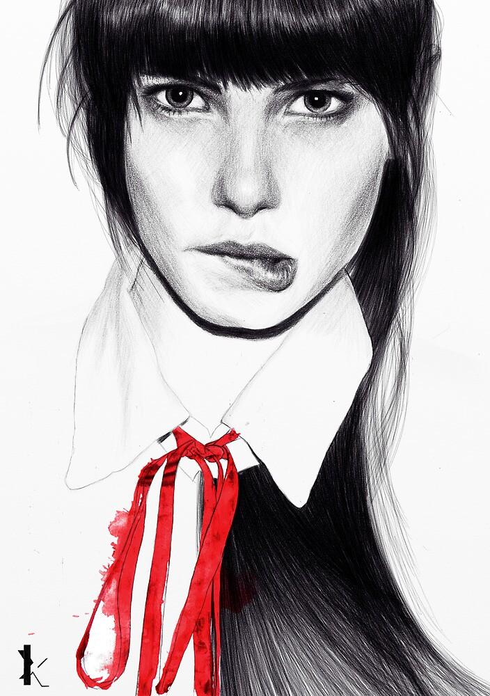 Red ribbon by Kirill Hohlov