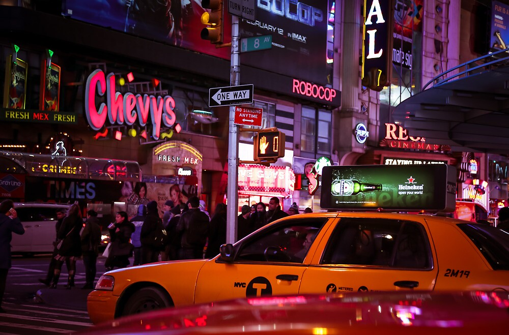 Chevys - NYC by Mark  Bennett