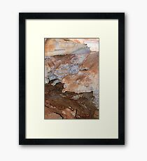 Inside Cave of the Winds Framed Print