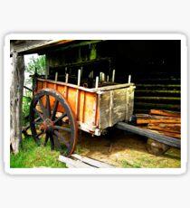 Wagon Sticker