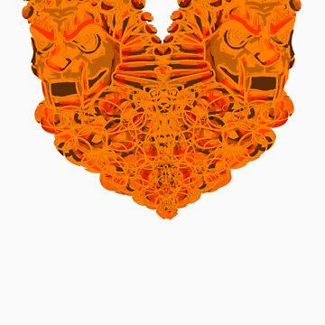 Fire Lions in Love by GiriMan