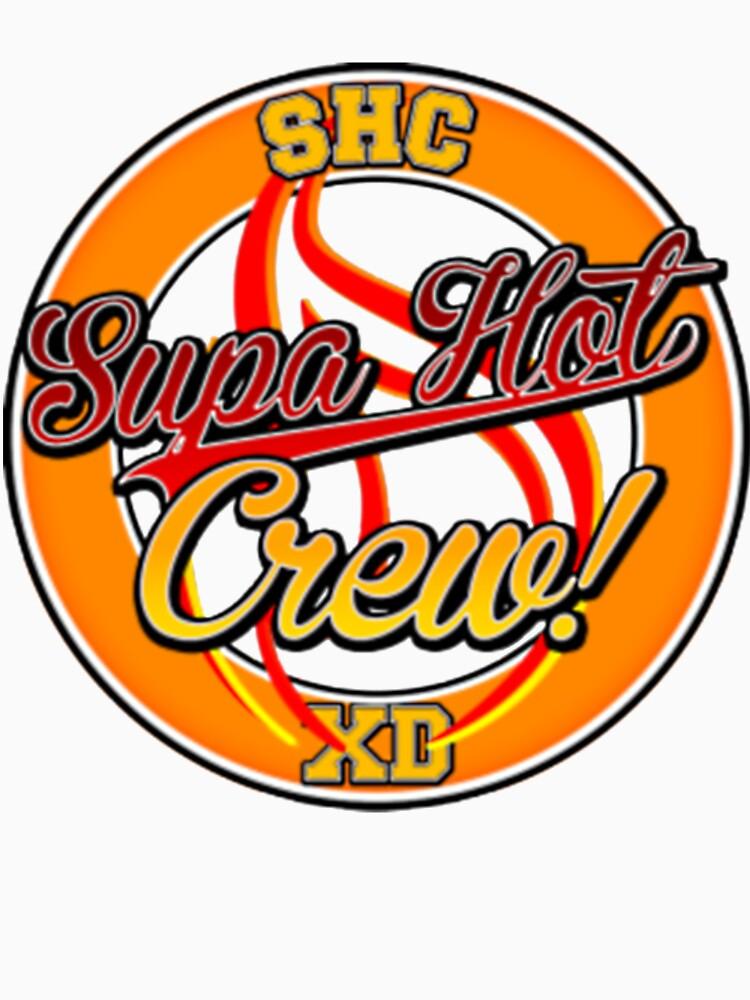 Supa Hot Crew XD team shirt  by Albols