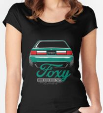 Foxy Body Mustang Women's Fitted Scoop T-Shirt