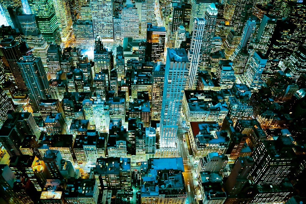 Up High in NYC by Mark  Bennett