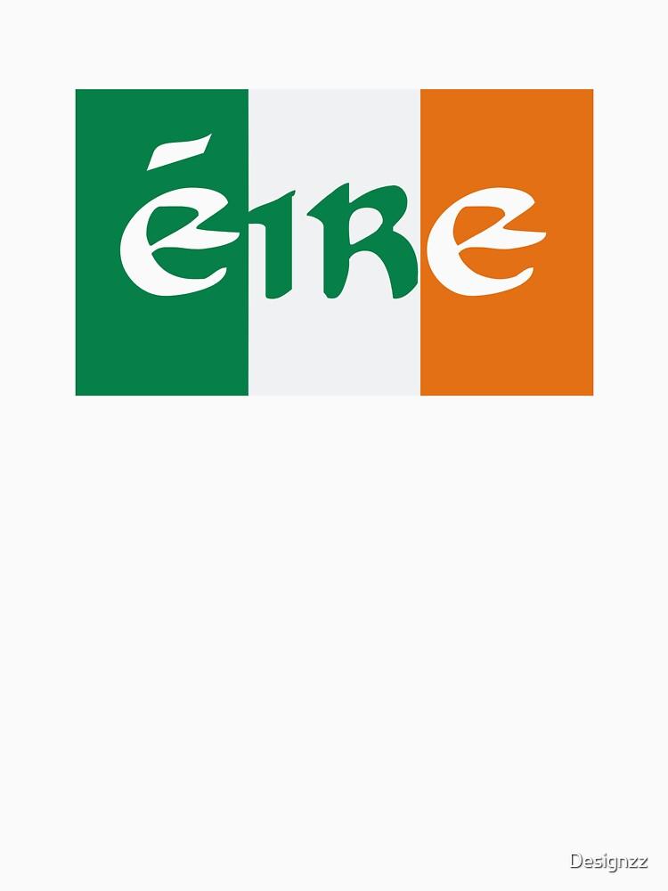 Eire Ireland flag by Designzz