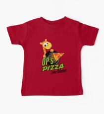 OP's Pizza Delivers (large - no pun intended) Baby Tee