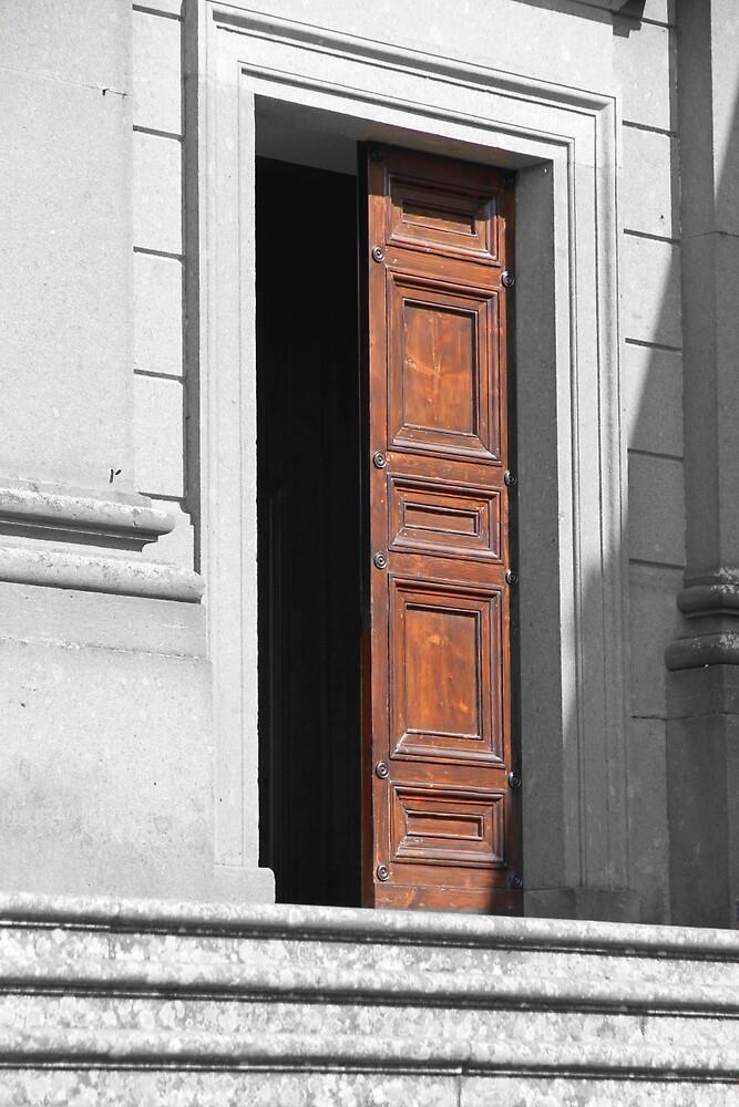 Red Door by Valentino Visentini