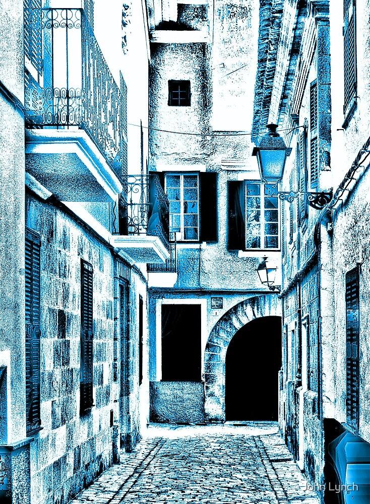 Blue street by John Lynch