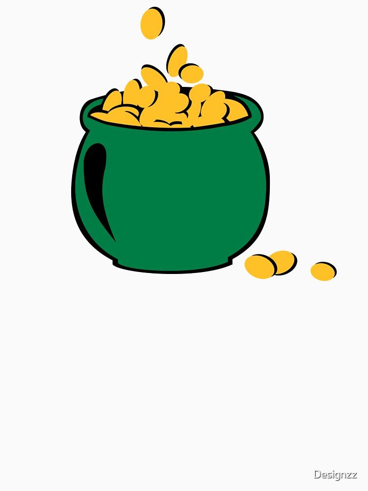 St. Patrick's day gold pot by Designzz