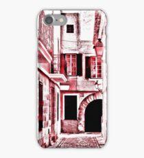 Red street iPhone Case/Skin