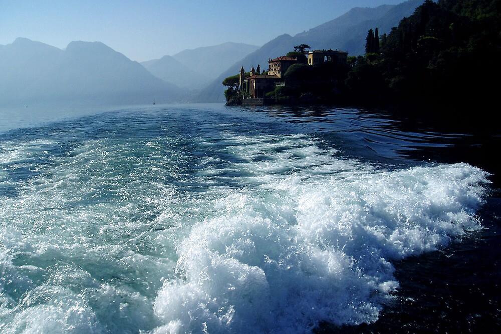 Lago di  Como - Italy by Arie Koene