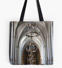 Arches And Chandeliers Tote Bag