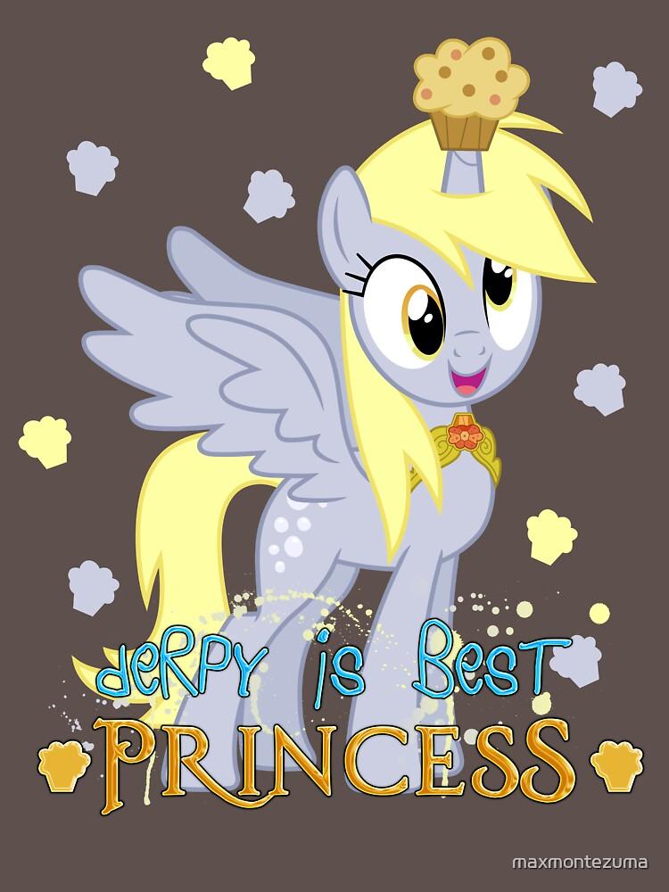 Derpy is best princess! by maxmontezuma
