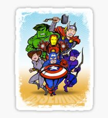 Mighty Heroes Sticker