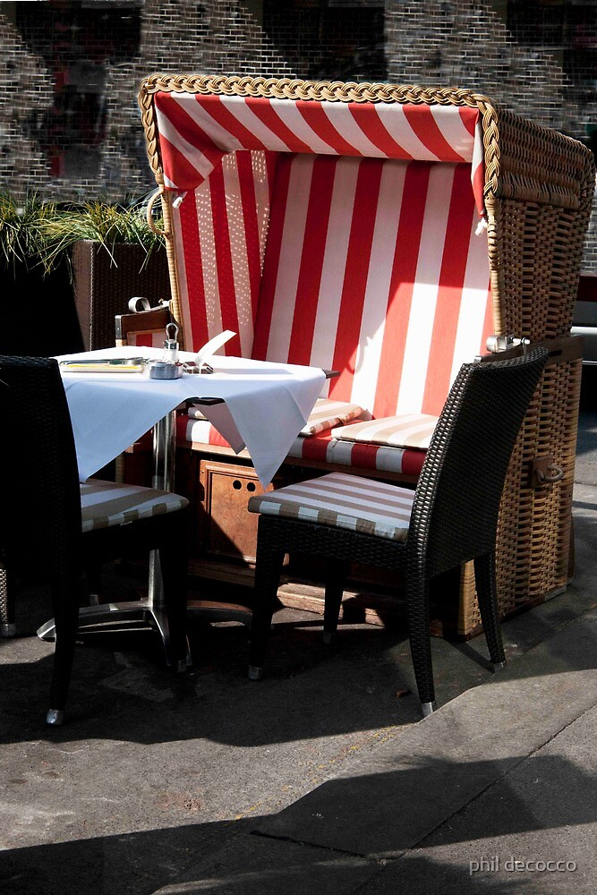 Outdoor Cabana by phil decocco