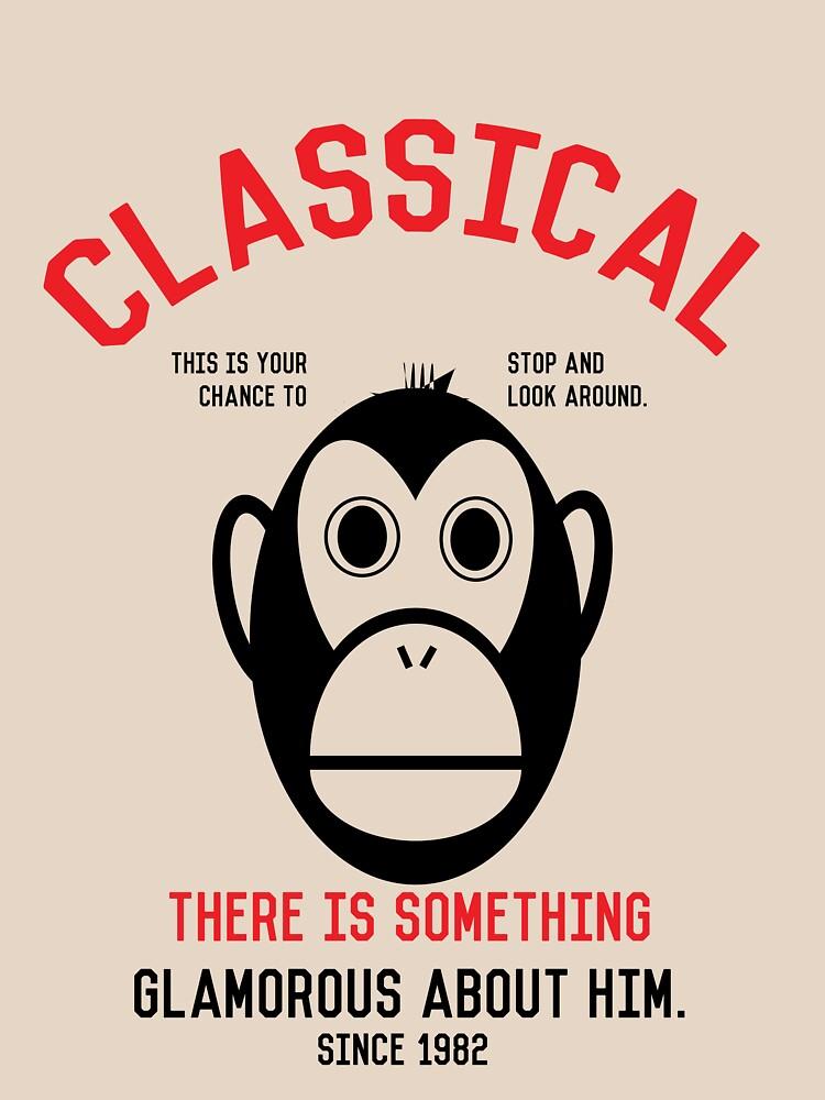 Classical Monkey by zekret