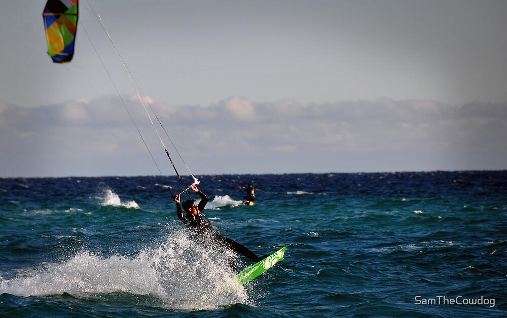Pensacola Kitesurfer by SamTheCowdog
