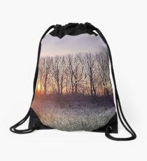 Winter Warmer Drawstring Bag