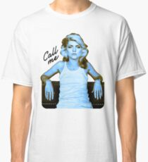 "Blondie ""Call Me"" Classic T-Shirt"
