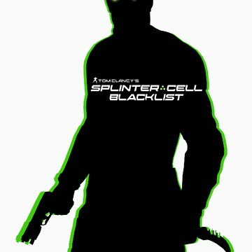 Sam Fisher Sillouette by cuffers