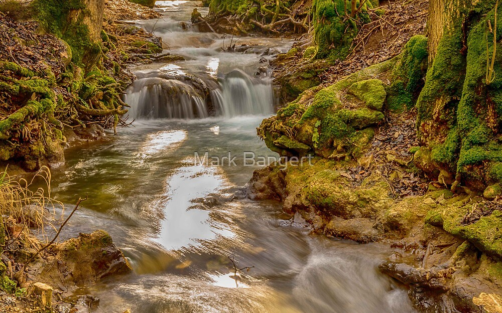 Bad Urach Waterfall, Southern Germany by Mark Bangert