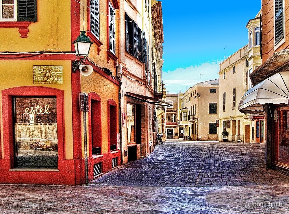 Street Corner, Ciutadella by John Lynch