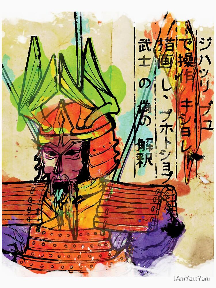 Stained Samurai  by IAmYamYam
