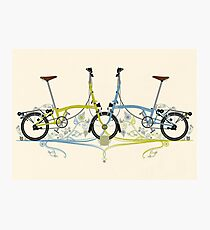 Brompton Bicycle Photographic Print