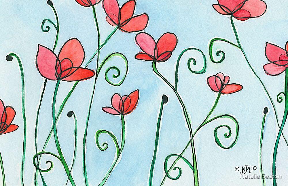 Poppy Love by Natalie Seaton
