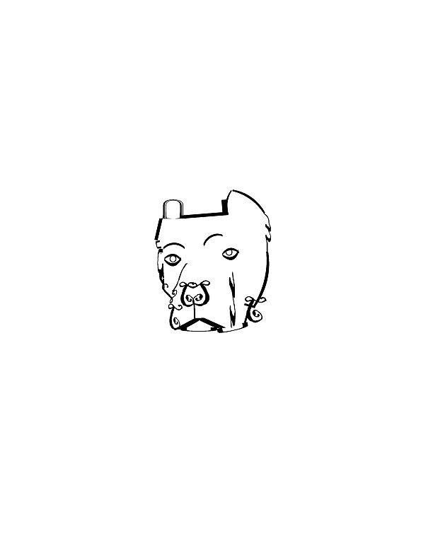 Typed Dog by KMartinez21