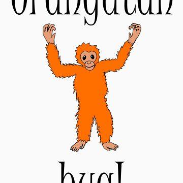 Orangutan Hug by SheWhoKnits