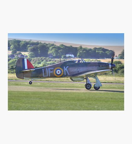 Hurricane Scramble - Shoreham 2013 !! Photographic Print