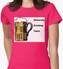 Drinking Team! Womens Fitted T-Shirt