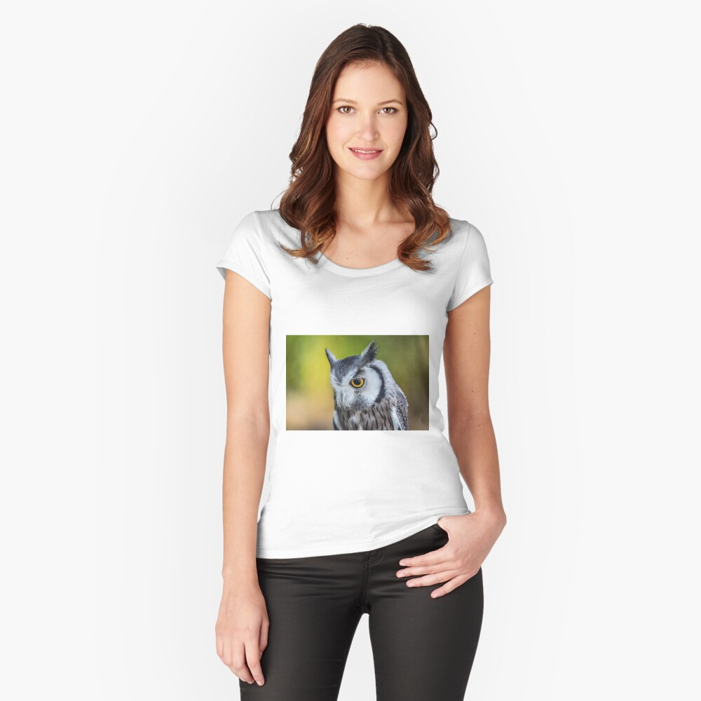 Old One Eye Women's Fitted Scoop T-Shirt Front