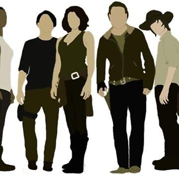 The Walking Dead Cast 2015/16 by mashuma3130