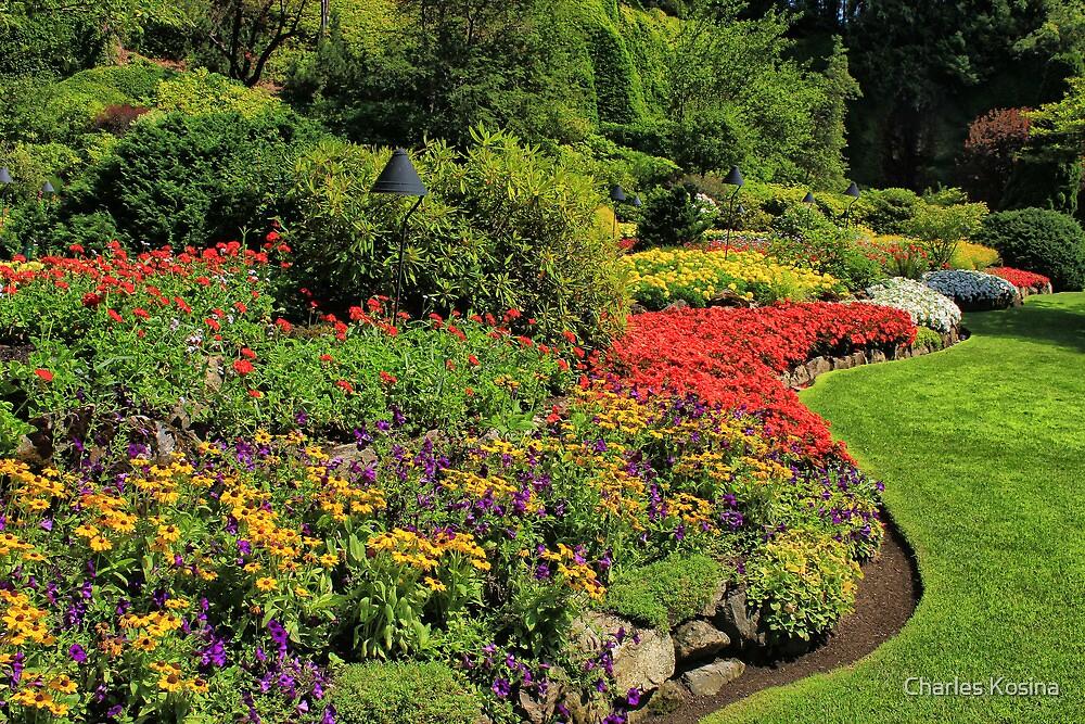 Butchart Gardens 2 by Charles Kosina
