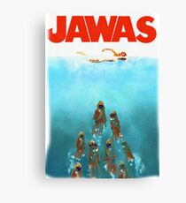 funny star wars jawas tshirt Canvas Print