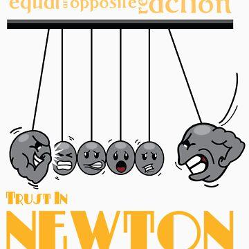Trust in Newton by sheenachu