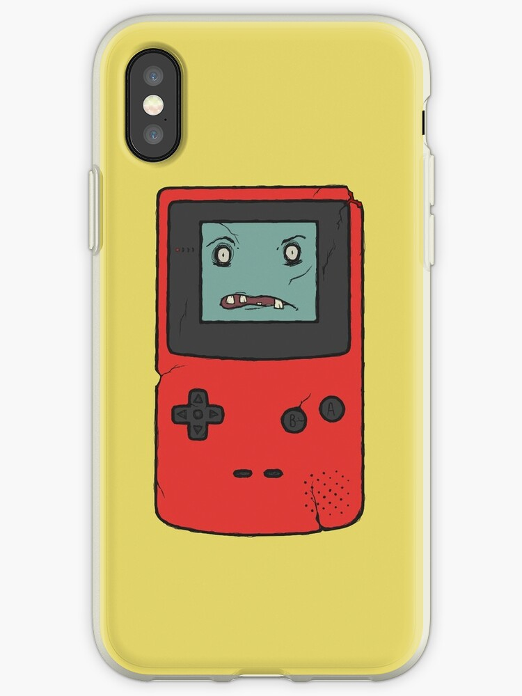 CreepyBoy Colour iPhone case by MonsterCrossing
